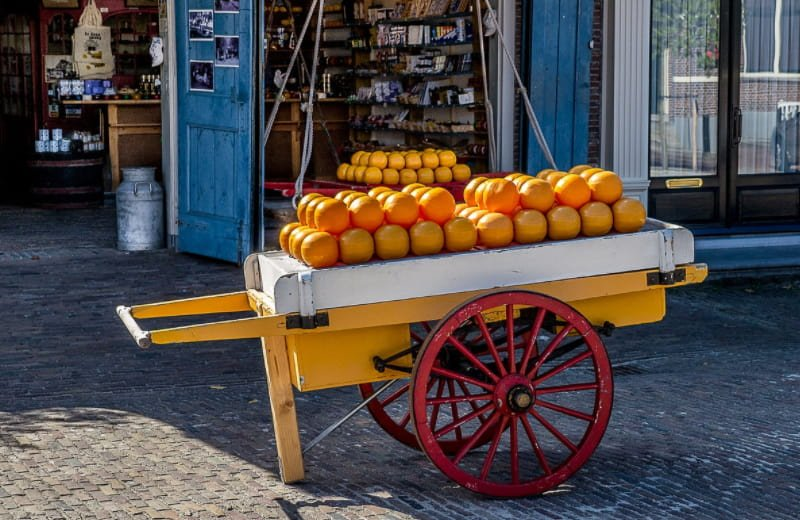 What Is the netherlands Known For - Dutch cheese