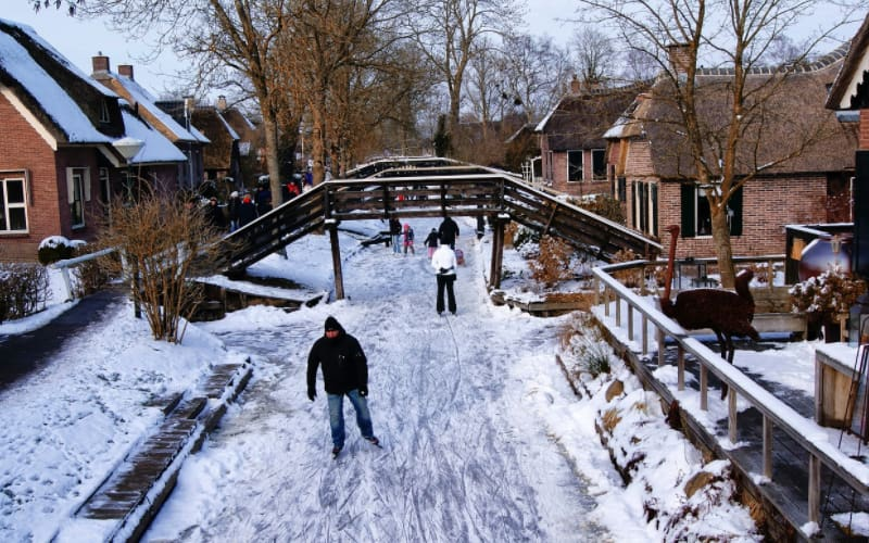 What Is the netherlands Known For - Giethoorn