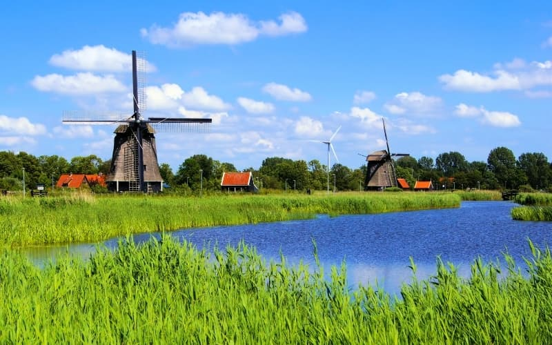 Is Alkmaar Worth Visiting - Windmills near Alkmaar