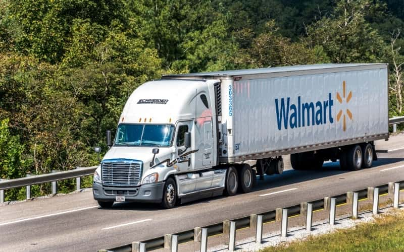 Is There a Walmart in The Netherlands - Photo of a Walmart truck