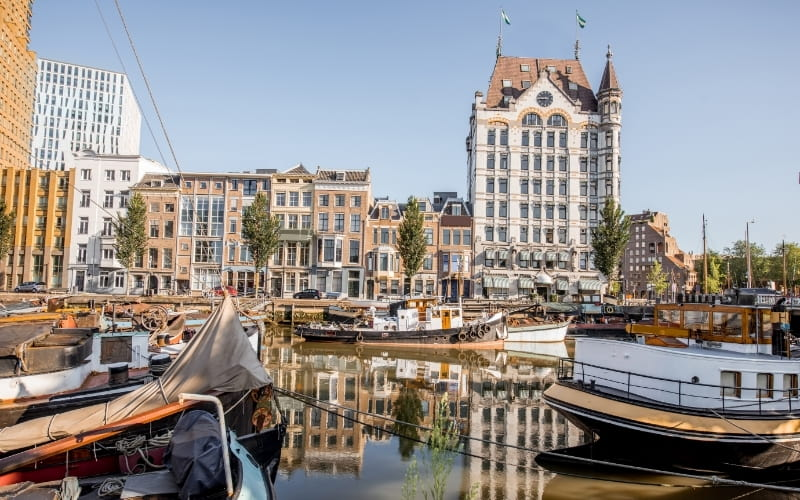 Visiting Rotterdam - Oude Haven